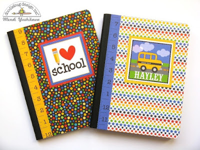 Doodlebug Design Inc. Back To School Crafts Ideas For Kids by Mendi Yoshikawa
