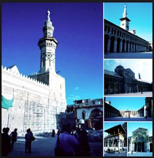 Masjid Menara Putih Tempat Nabi Isa Turun