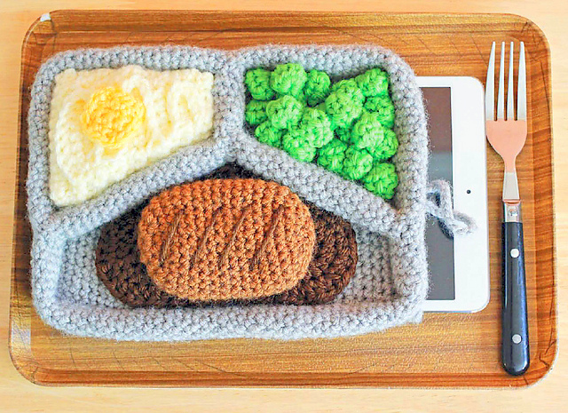 TV Dinner Tablet Cozy crochet pattern