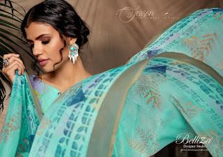 Belliza Designer nazrana pure Cotton Dress Material