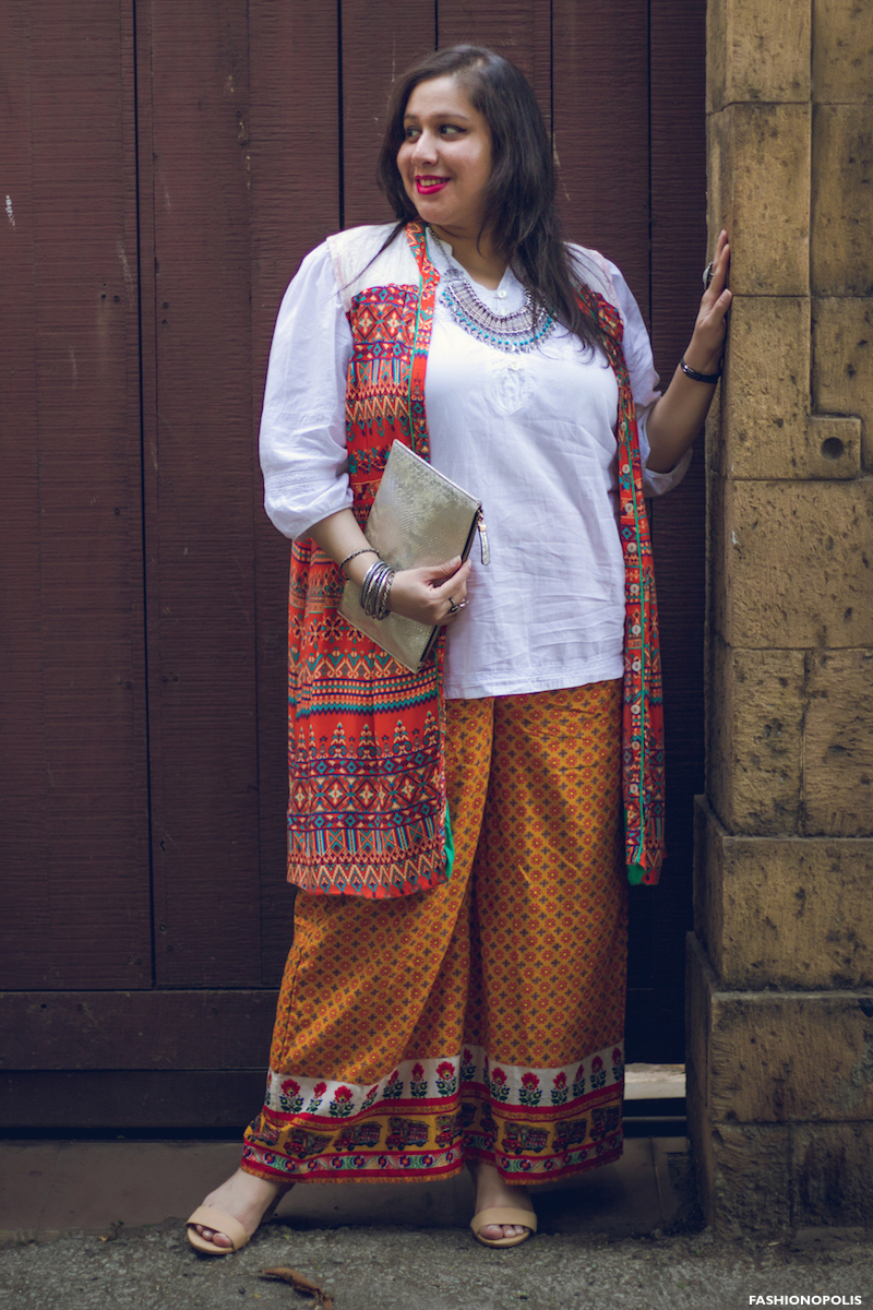 Plus Size Print Mix Look - Plus Size Styling - Plus Size Fashion Blogger