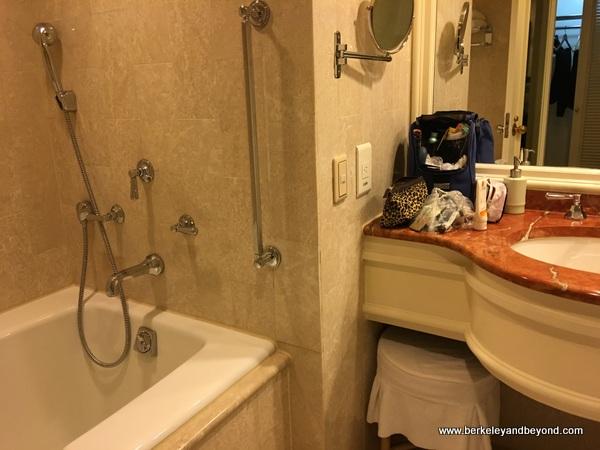 bathroom at The Sherwood Taipei in Taiwan