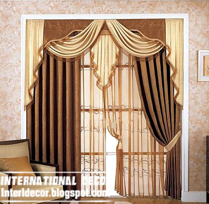 Best Curtain Models 2017 Unique Dries Model Brown Door