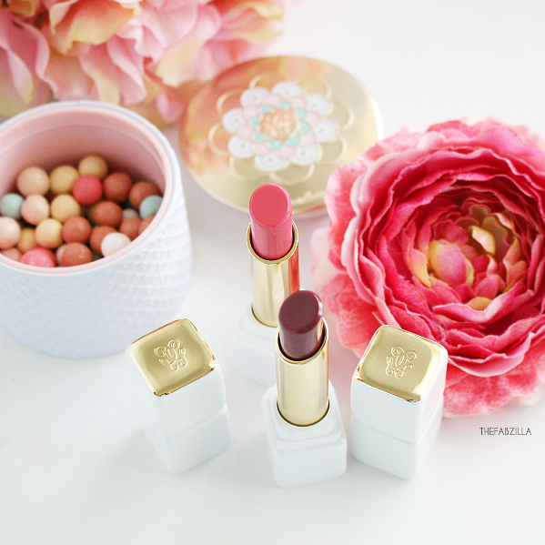 Guerlain Kiss Kiss Roselip, review, swatch, fall 2015 guerlain rose bloom, fall makeup trend