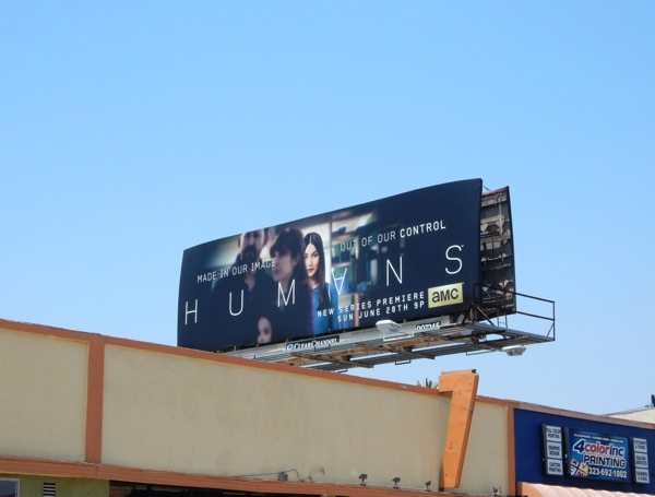 Humans season 1 billboard