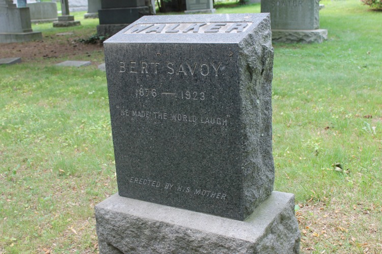 A Vintage Nerd Woodlawn Cemetery Mary Pickford Burial Vintage Blog Where Old Hollywood Stars are Buried Bert Savoy Grave