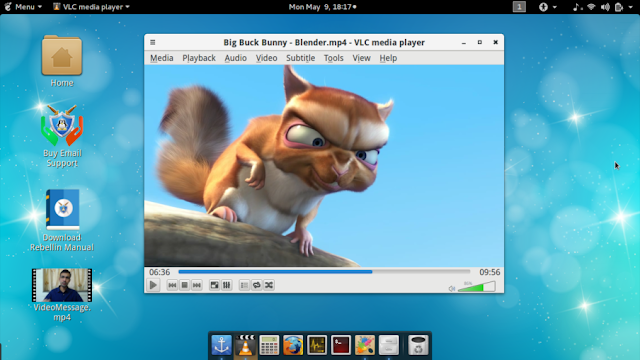Conheça a distribuição GNU/Linux Rebellin e faça o download!