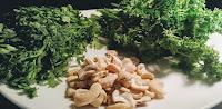 Cilantro, parsley and Cashew nut Dinner ideas Food Recipe