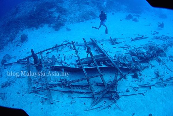 Mataking Island Underwater Wreck