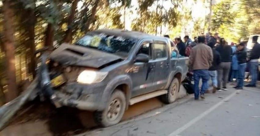 TRAGEDIA: Tres escolares son atropellados por una camioneta en Huamachuco - La Libertad