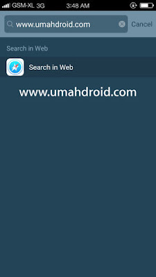 Fitur Quick Search Tema iPhone Untuk Android