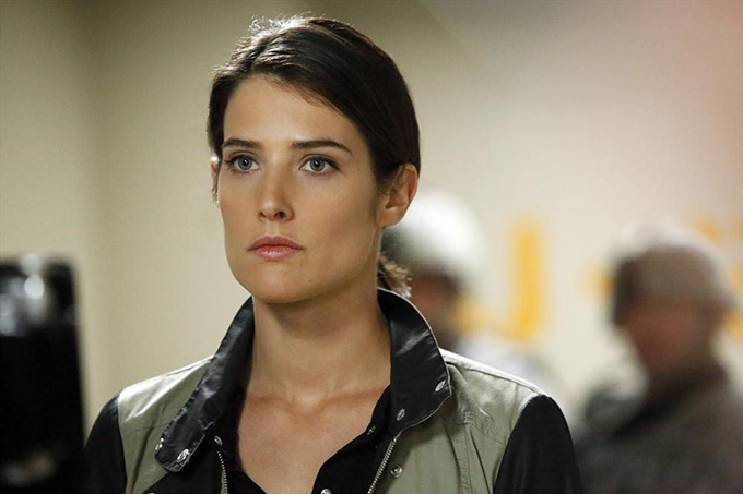 Maria Hill Cobie Smulders Agents of SHIELD