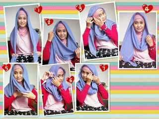Gambar Cara Memakai Jilbab