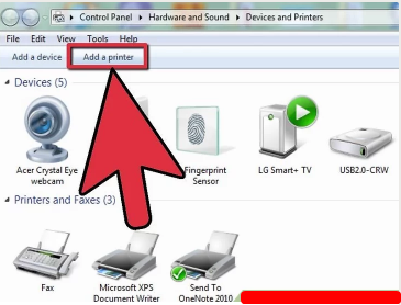 How to Connect With Network Printer