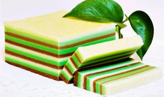 Resep Kue Lapis Tepung Beras Pelangi Sederhana