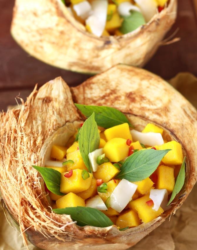 mango and coconut salsa recipe
