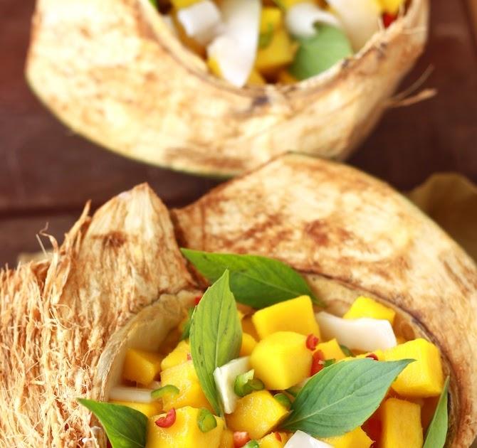 Coconut Mango: Coconut Mango Salsa With Thai Basil