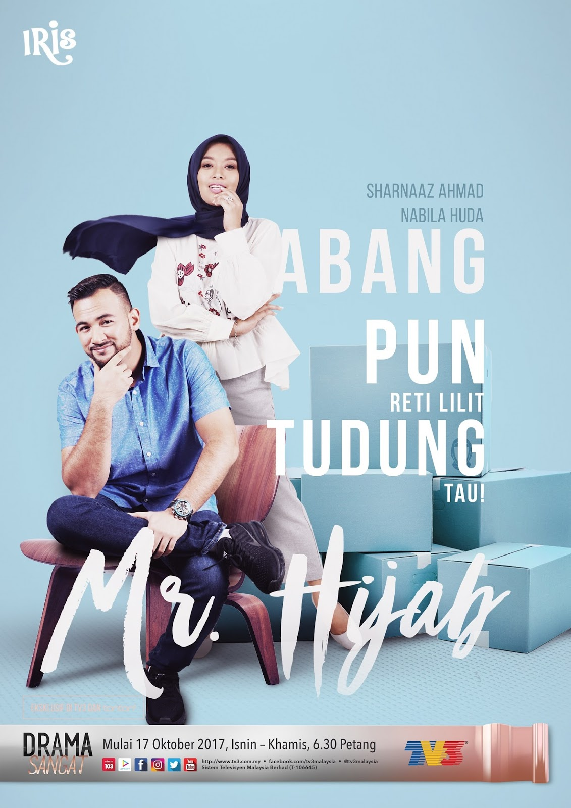 Drama Mr Hijab (2017) Slot Iris TV3
