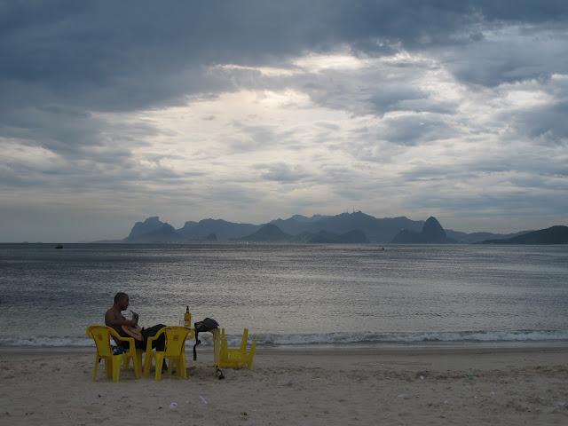 Praia de Itaipu, em Niterói