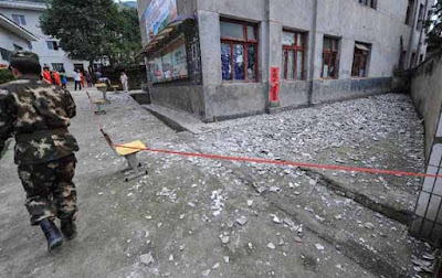 Xinjiang, Earthquake, China, China's far-western region, earthquake in China