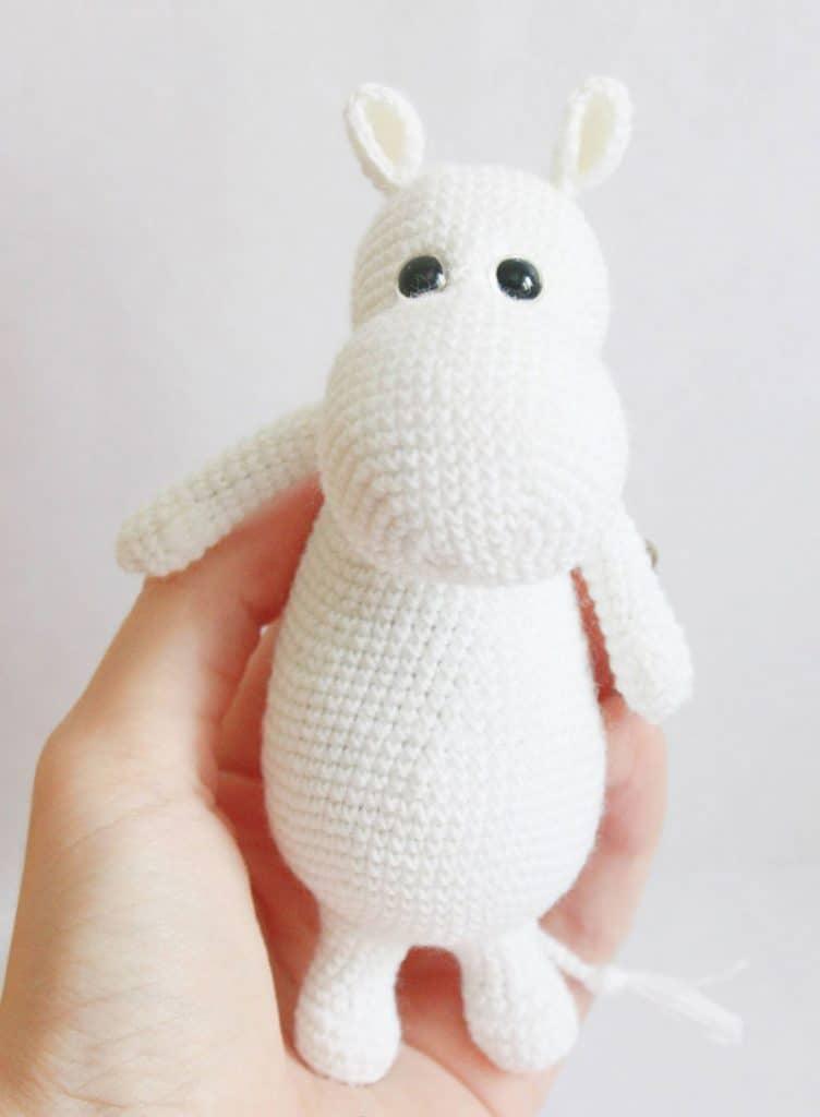 Häkelblog - Täglich neue Anleitungen: Moomin - Häkelanleitung