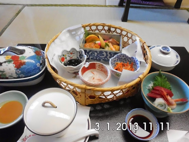 Japan traditional food