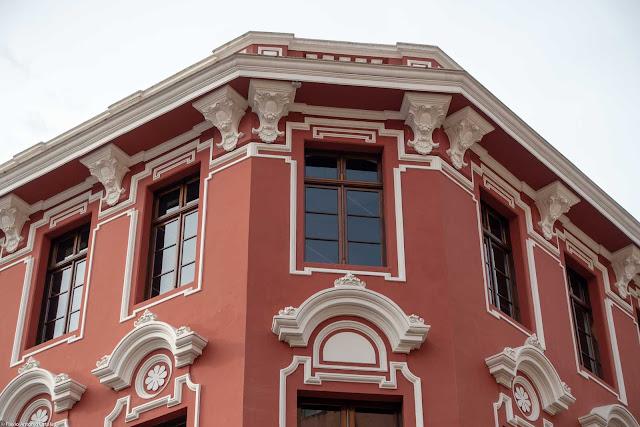 A antiga Casa de Ferragens Hauer, detalhe