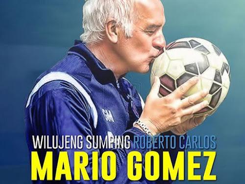 Profil Pelatih Baru Persib.Roberto Carlos Mario Gomez