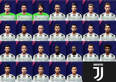 bc2a559a5 Juventus Full Face-Pack 2018 19 - PES 6