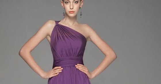 WhiteAzalea Elegant Dresses: Purple Bridesmaid Dresses Elegant