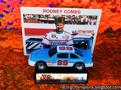 Rodney Combs #89 Racing Champions 1/64 NASCAR die-cast blog BGN