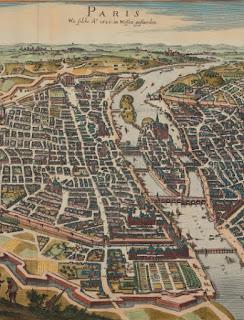 Extrait du Plan de Merian (1620)