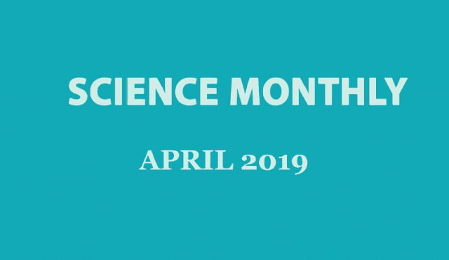 Science Monthly April 2019 Download PDF
