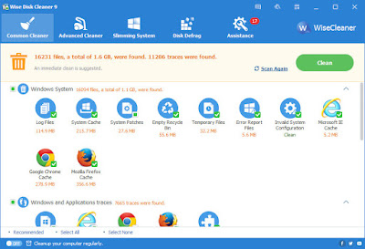 Wise Disk Cleaner v9.06.635 Terbaru