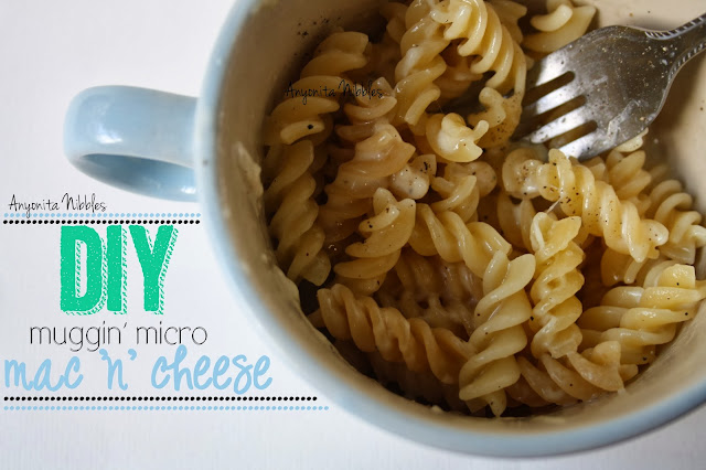DIY Microwaveable Macaroni & Cheese from www.anyonita-nibbles.com This Easy Mac copycat is easy to make and better for you than the packet stuff! A must pin!
