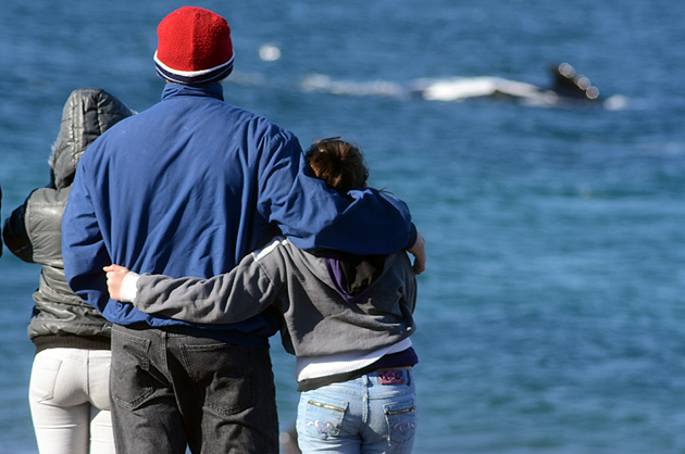 Hugs and emotions in Playa El Doradillo - The Whale Crib