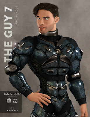 3d Models Art Zone - The Guy 7 Pro Bundle