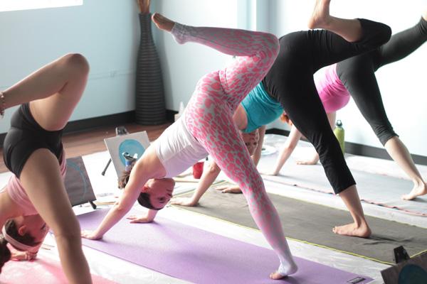 ARTOGA, ARTOGA DC, yoga, painting, yogi, namaste, yoga and painting, yoga class, Extend Yoga, Bethesda, Maryland