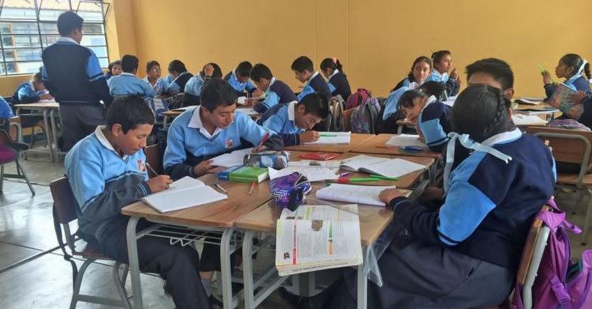 Colegios de la La Libertad recuperarán clases escolares los sábados y domingos