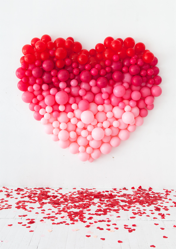 So in love with diy oversized balloon heart by Oh Happy Day