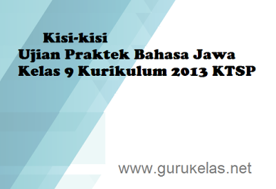 Contoh Ujian Praktek Bahasa Jawa Kelas 9