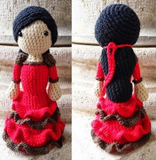 http://tejiendoconmax.blogspot.com.es/2015/01/flamenca-con-volantes-crochet.html