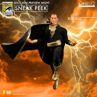 Mezco One:12 Collective DC Comics Black Adam Action Figure