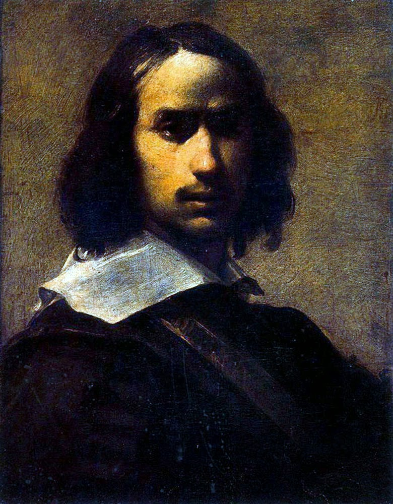 Francesco Cairo, Self Portrait, Portraits of Painters, Fine arts, Painter Francesco Cairo
