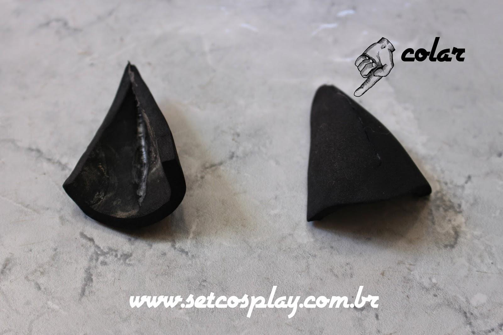 SetCosplay  Tutorial  Como fazer orelhas de gato  Cat ear Cosplay f3e63fd1576