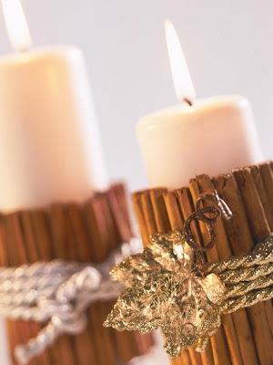 dolce vita weihnachts deko mit kerzen. Black Bedroom Furniture Sets. Home Design Ideas