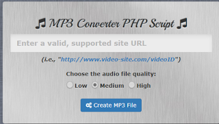 Source Code MP3 Converter PHP Full Modul