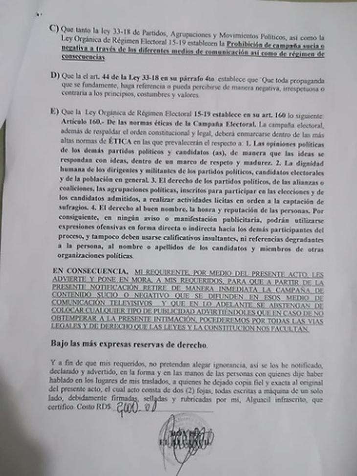 Abel intima canales de Santiago pa'que no difundan vídeo donde aparece elogiando a Leonel