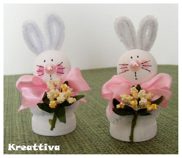 Coniglietti pasquali kreattivablog - Lettere stampabili del coniglietto di pasqua ...