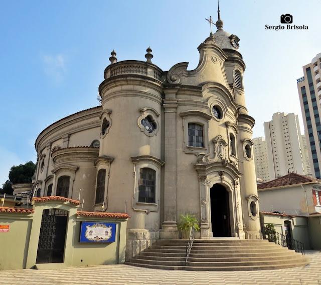 Vista ampla da Paróquia São João Maria Vianney - Água Branca - São Paulo
